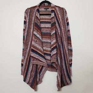 American Eagle Open Front Waterfall Cardigan, sz S